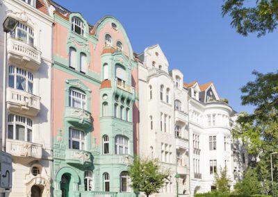 Altbau Häuserblock in Berlin 1